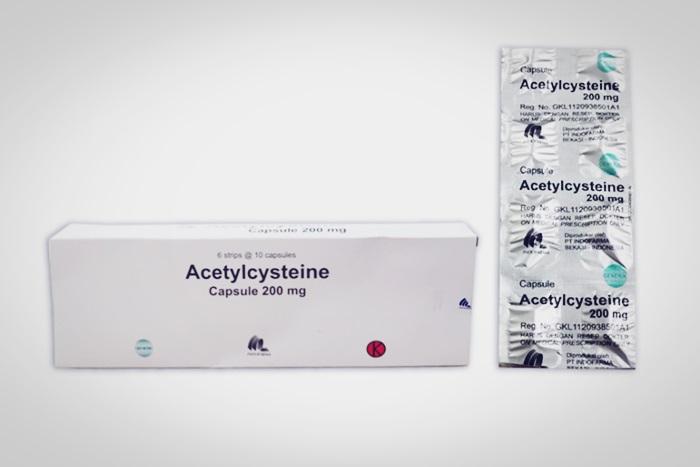 acetylcysteine atau asetilsistein