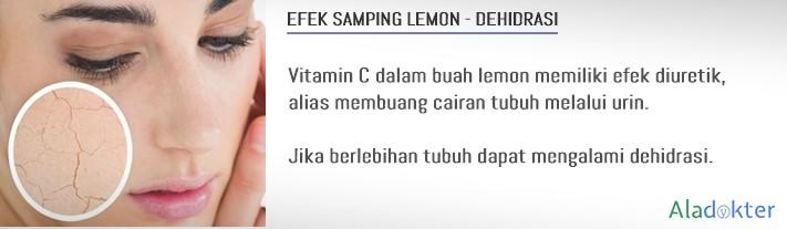 efek samping lemon dehidrasi aladokter