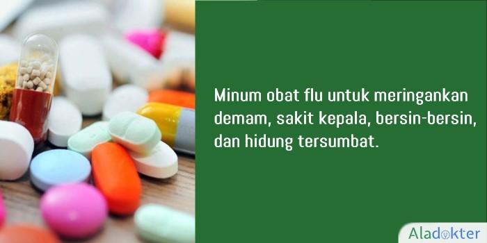 mengobati flu dengan obat aladokter