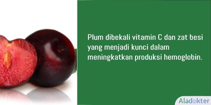 plum buah penambah darah aladokter