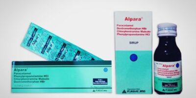 alpara tablet dan alpara syrup