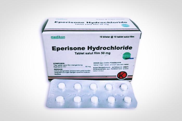eperisone hidroklorida