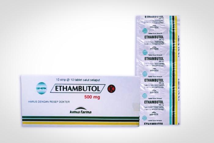 etambutol 500 mg