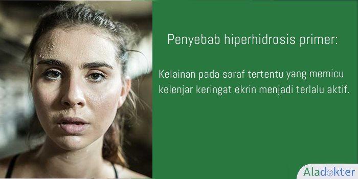 Penyebab hiperhidrosis primer