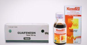 guaifenesin tablet dan sirup
