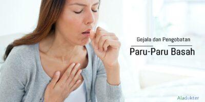 Gejala paru-paru basah