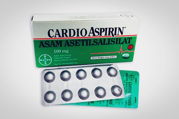 cardio aspirin tablet 100 mg
