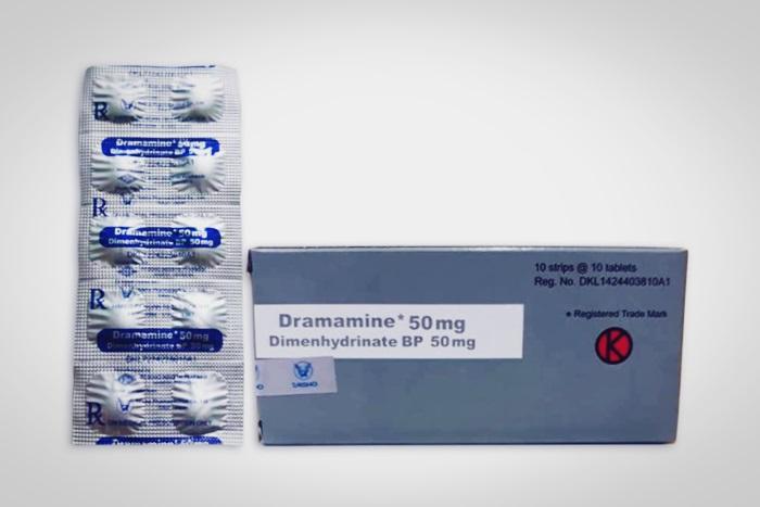 dramamine 50 mg obat mabuk perjalanan