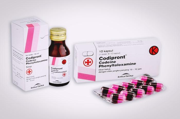 codipront obat batuk sirup dan tablet