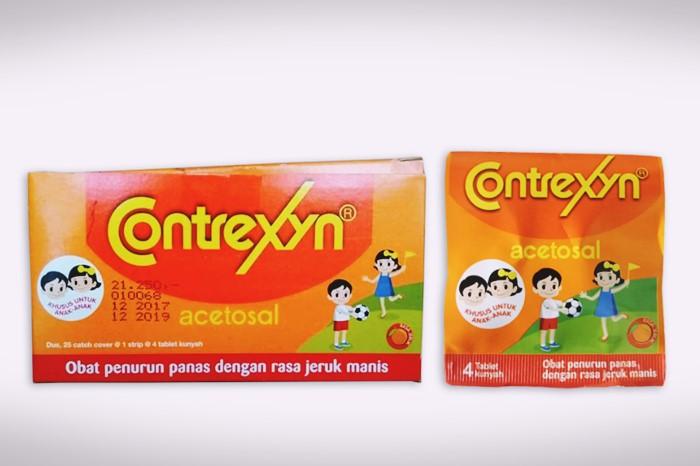 contrexyn obat penurun panas anak