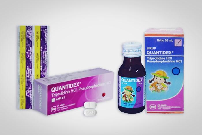 quantidex kaplet dan sirup