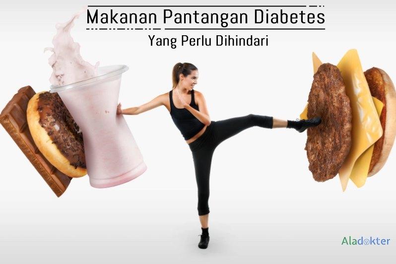 makanan pantangan diabetes