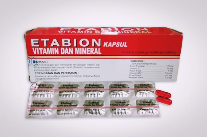 etabion kapsul vitamin dan mineral