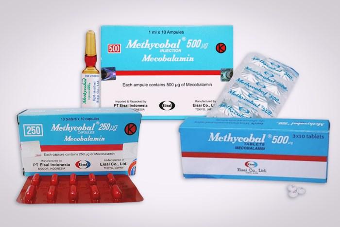 methycobal tablet kapsul dan injeksi