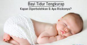 Bayi tidur tengkurap