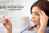 Haid tidak teratur, apa bisa hamil aladokter