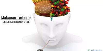 Makanan terburuk untuk otak