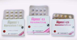 alganax 1 mg, 0,5 mg dan 0,25 mg