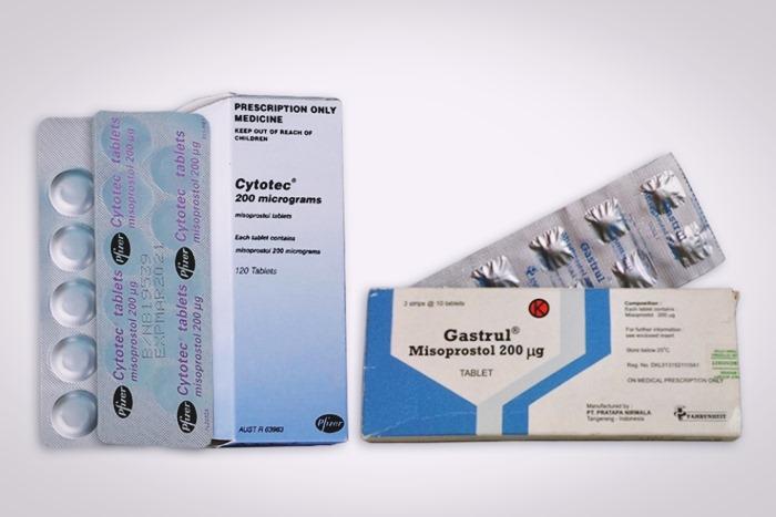misoprostol merek gastrul dan cytotec