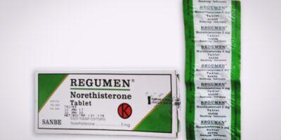 regumen tablet obat penunda haid