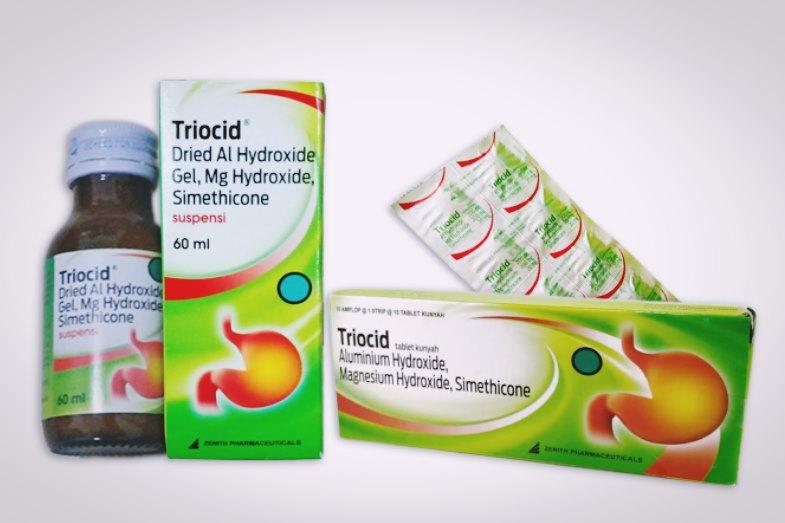 triocid tablet dan sirup