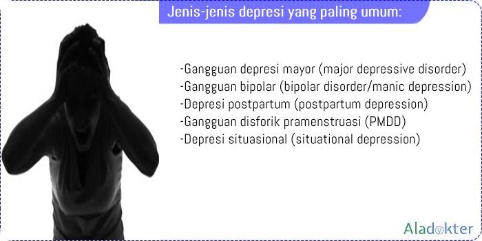 Jenis-jenis depresi