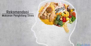 makanan penghilang stres