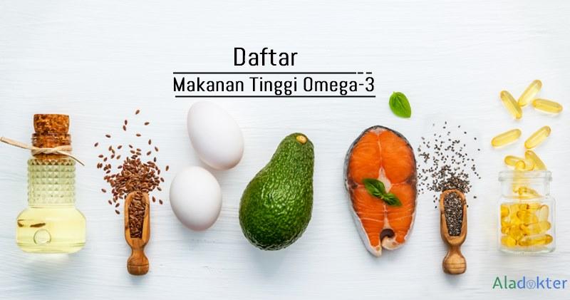 Makanan tinggi omega 3