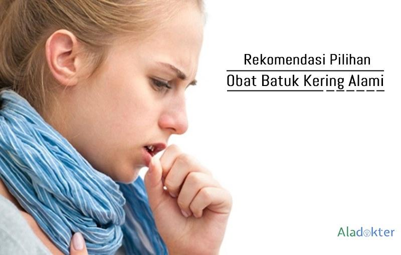Obat batuk kering alami