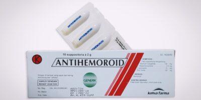 antihemoroid suppositoria generik