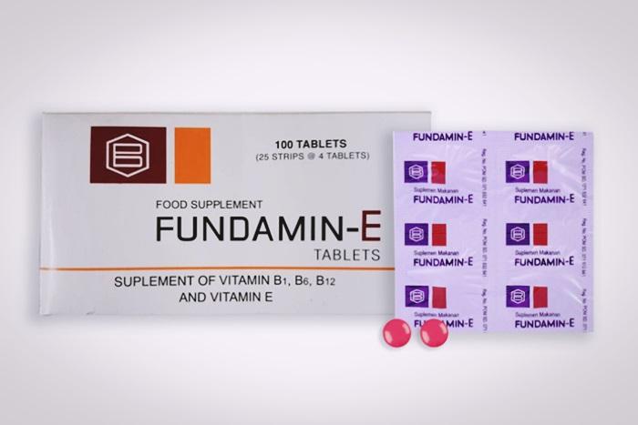 fundamin E tablet aladokter