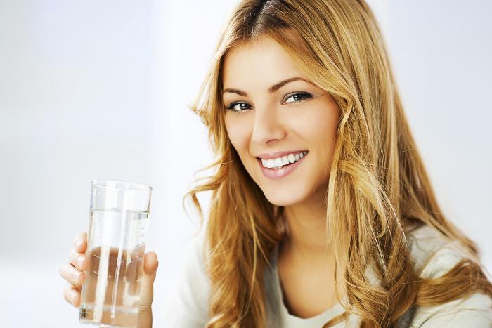 minum air putih cepat berhenti haid