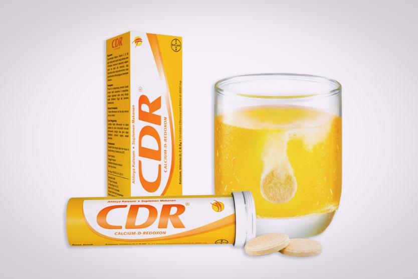 CDR kalsium redokson