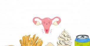 Makanan penyebab kista ovarium