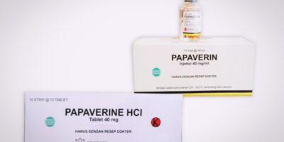 papaverine tablet dan injeksi