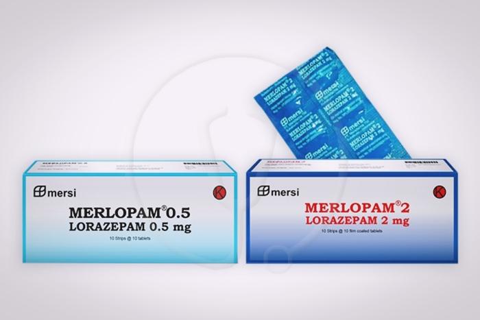 merlopam 2 dan 0,5 mg