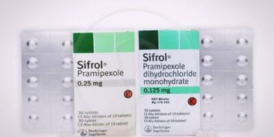sifrol 0,25 dan 0,125 obat asma