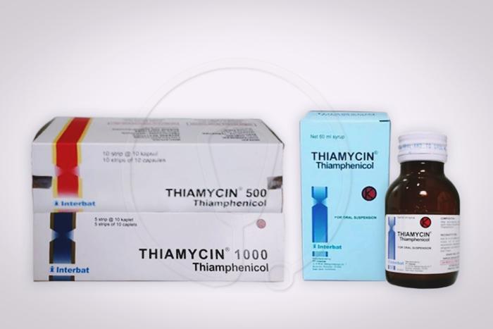 thiamycin kapsul dan sirup 500 dan 1000