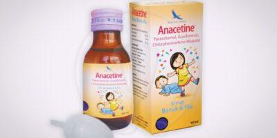 anacetine obat batuk flu anak