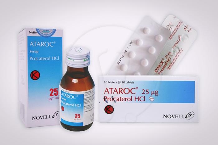 ataroc tablet dan sirup