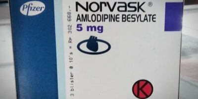 Norvask 5 mg tablet